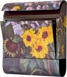 Die Briefkastenfirma Zonnebloemen brievenbus