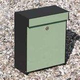 Allux Grundform groen brievenbus_
