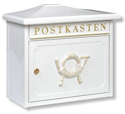 Burg Wächter Sylt wit brievenbus