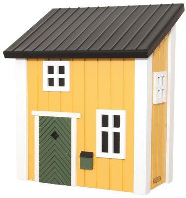 Wildlife Garden Mail Cottage Yellow brievenbus