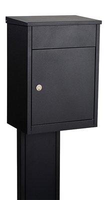 Allux 500 zwart pakketbrievenbus