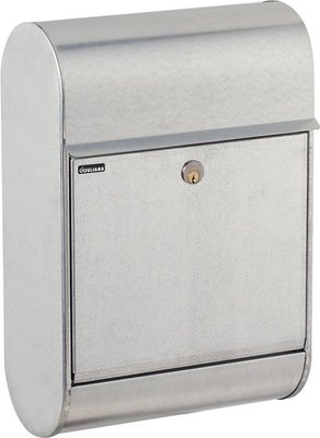 Allux 8900 zilver brievenbus