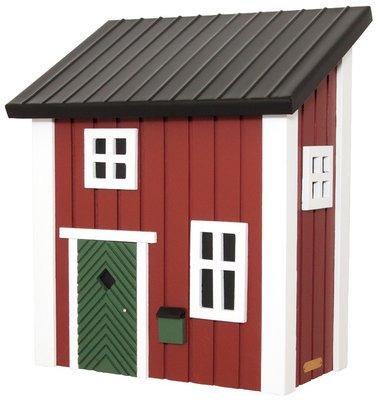 Wildlife Garden Mail Cottage Red brievenbus