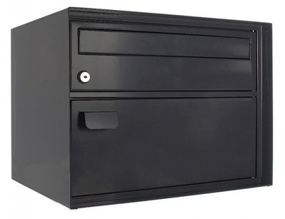 Rottner Tresor Enzian zwart brievenbus