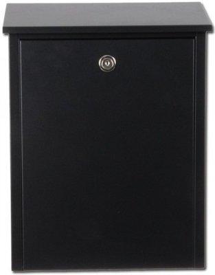 Allux 200 zwart brievenbus