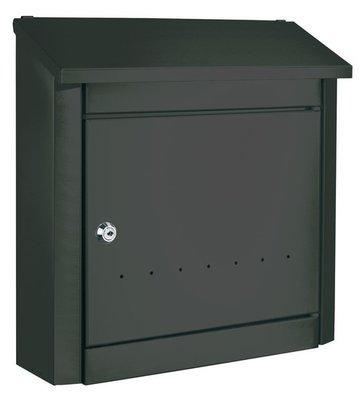 Rottner Tresor Trend zwart brievenbus