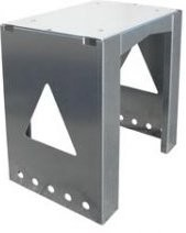 Allux 8002 mounting base zilver