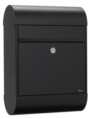 Allux 6000 Ruko zwart brievenbus