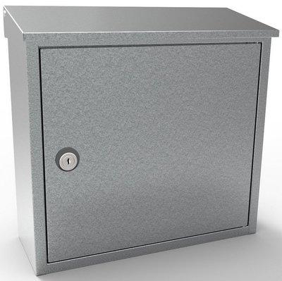 Allux 400 zilver brievenbus