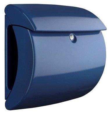 Burg Wächter Piano marine blue brievenbus