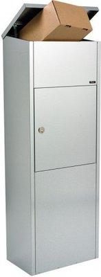 Allux 600 Ruko zilver pakketbrievenbus
