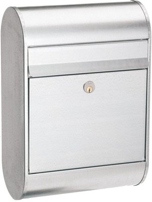 Allux 6000 zilver brievenbus