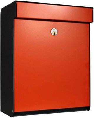 Allux Grundform rood brievenbus