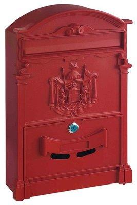 Rottner Tresor Ashford rood brievenbus