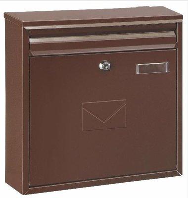 Rottner Tresor Teramo bruin brievenbus