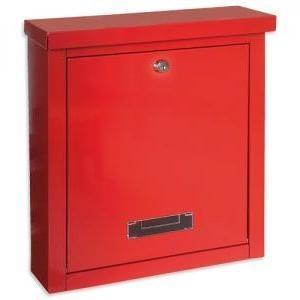 Rottner Tresor Brighton rood brievenbus