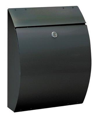 Rottner Tresor Eleganza zwart brievenbus