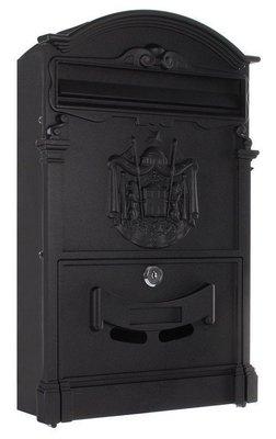 Rottner Tresor Ashford zwart brievenbus