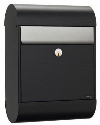 Allux 6000 zwart/zilver brievenbus