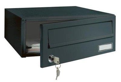 Rottner Tresor Elm zwart brievenbus