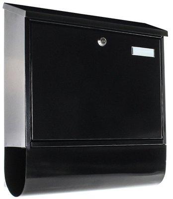 Rottner Tresor Villa Spezial-Set zwart brievenbus