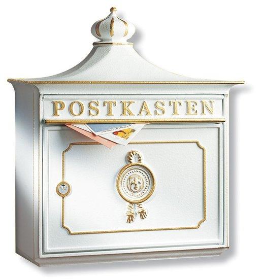Burg Wächter Bordeaux wit brievenbus