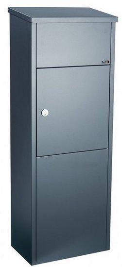 Allux 600 antraciet pakketbrievenbus
