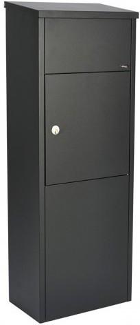 Allux 600 zwart pakketbrievenbus