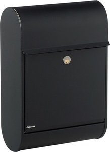Allux 8900 zwart brievenbus