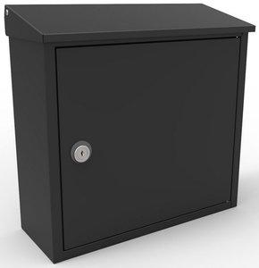 Allux 400 zwart brievenbus
