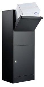 Allux 800+ Ruko zwart pakketbrievenbus