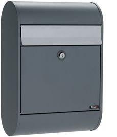 Allux 5000 antraciet brievenbus