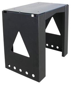 Allux 8002 mounting base zwart
