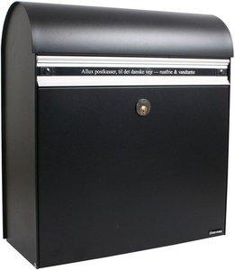 Allux KS200 zwart brievenbus
