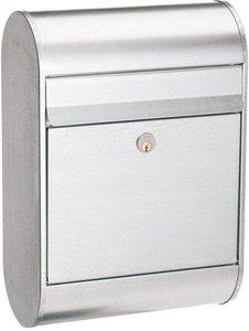 Allux 6000 Ruko zilver brievenbus