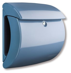 Burg Wächter Piano light blue brievenbus