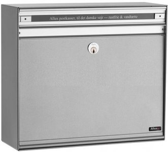 Allux SC135 zilver brievenbus