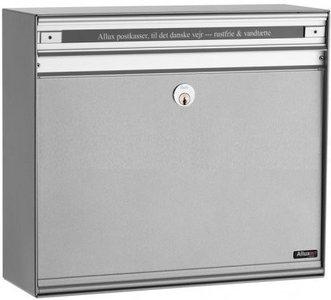 Allux SC200 zilver brievenbus