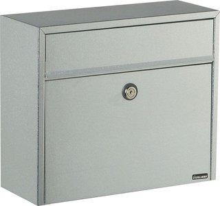 Allux LT150 zilver brievenbus